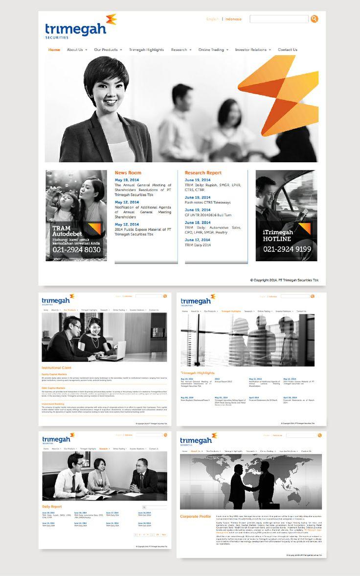 Website Corporate - PT. Trimegah Securities, Tbk. - http://www.trimegah.com dan http://www.trimegah-am.com #WebDesign #WebDevelopment #Trimegah #Securities #Jasa_Pembuatan_Website #WebCorporate
