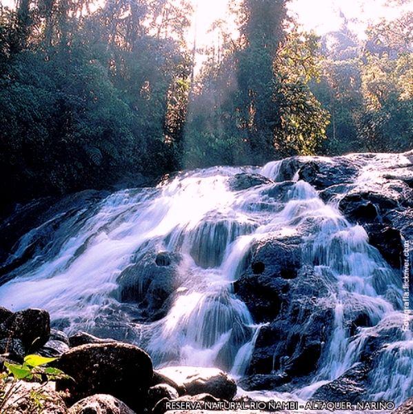 Colombia - Reserva natural del río Ñambi  Altaquer, Nariño.