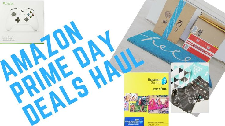 Amazon Prime Day Deals Haul from Chelsea's Home