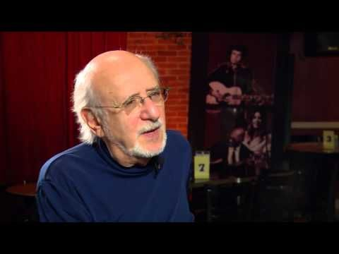 Peter Yarrow talks about Peter, Paul and Mary: 50 Years in Music and Life - YouTube