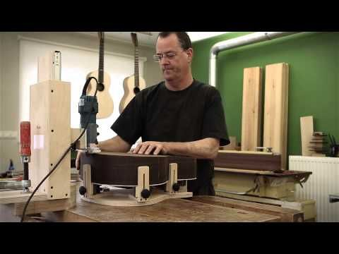 Building a DeSmet Steelstring guitar by Luthier Peter de Smet - YouTube
