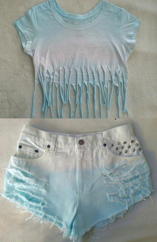 dip dye clothes