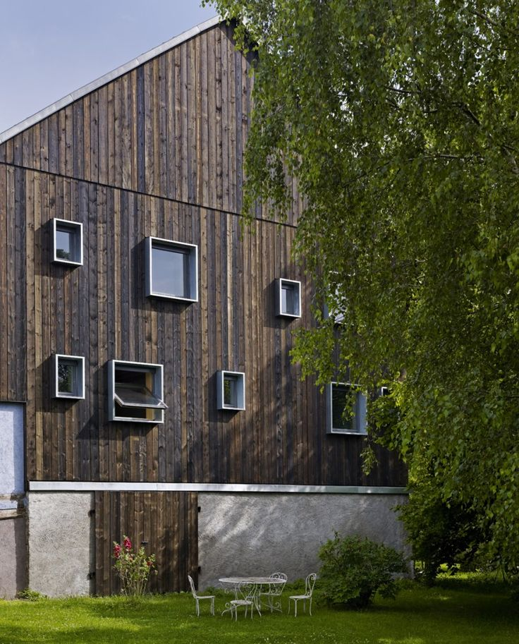 architecte cration picquet architecte architecte quatre chambres dhtes cration de quatre cellules exterior faades exterieur maison