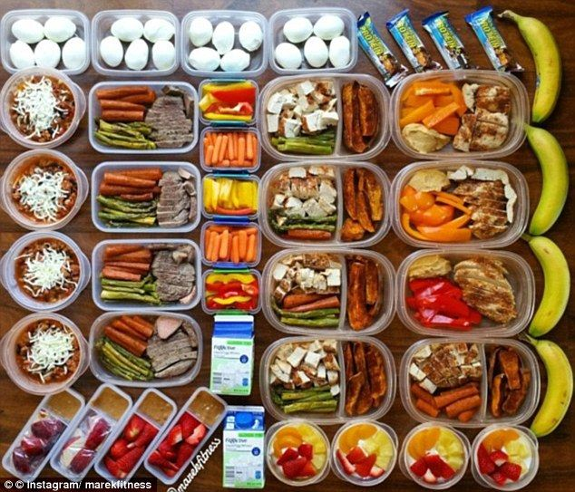 The perfect meal prep foods for weight loss revealed #dailymail
