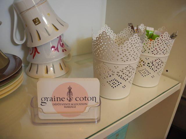 Coin thé et café chez Graine de coton