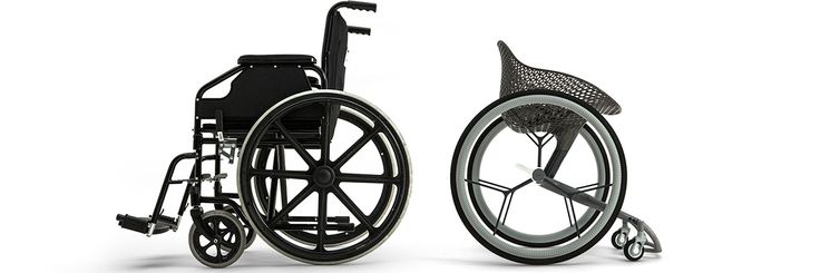 LayerLAB's latest project is the GO, a made-to-measure 3D-printed wheelchair. The wheelchair has been designed to fit the individual needs of a wide range of disabilities and lifestyles.  The custom form of the seat and foot-bay is driven by 3D digital data derived from mapping each user's biometric information.