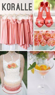 Hochzeitsfarbentrends 2014