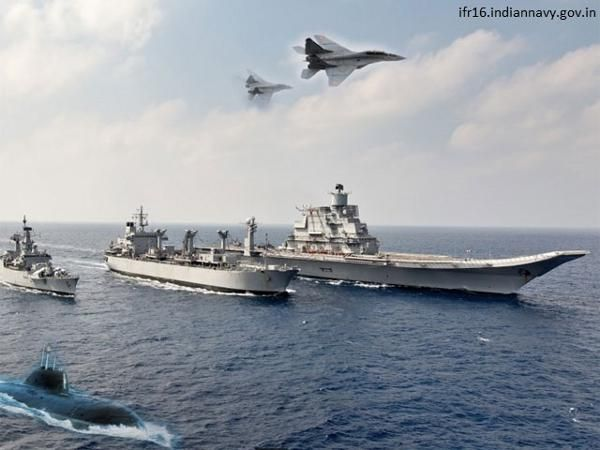 The International Fleet Review is being held after a gap of almost one-and-a-half decade. The first IFR was held in 2001 at Mumbai.