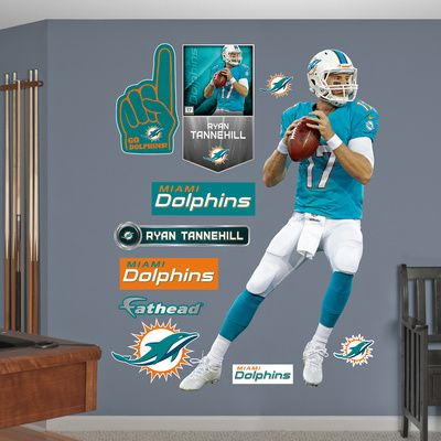 NFL Miami Dolphins Ryan Tannehill Wall Decal