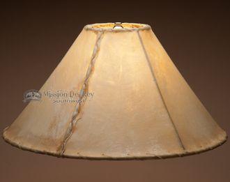 "Southwestern Rawhide Lamp Shade 18"""""