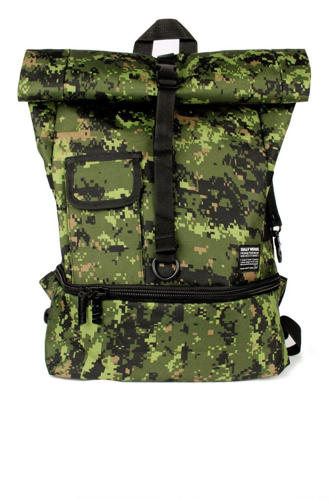 Canadian Armed Forces Inspired Digi. Camo Series - Kyojin