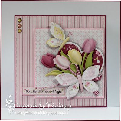 Crafting with Cotnob, Decoupage, Floral, NitWit Collections