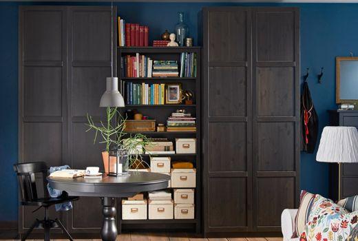 IKEA PAX wardrobe hinge doors
