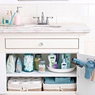43 Practical Bathroom Organization Ideas