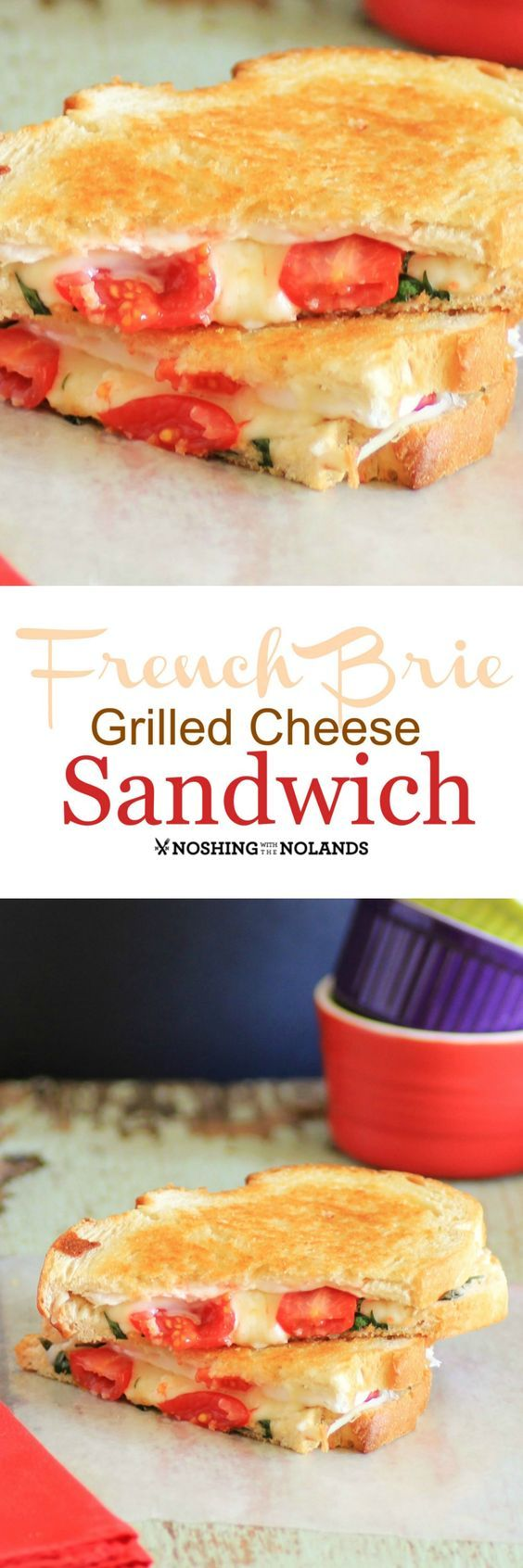 Here is my take on a grilled cheese sandwich, the French Brie Grilled Cheese Sandwich. This is a delicious and easy sandwich to make.