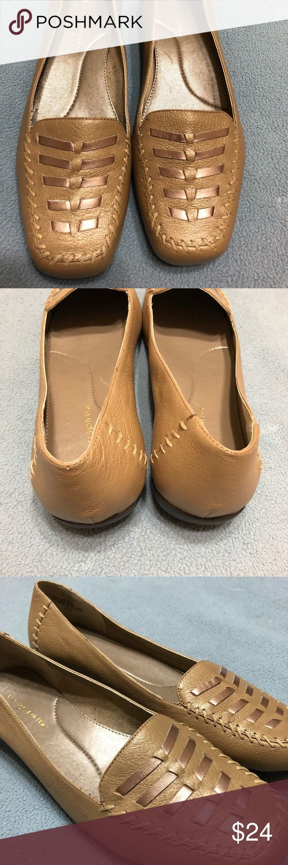 Easy Spirit Champagne Shoes Comfort and Champagne  Easy Spirit Flat dress or casual shoe   Worn / Good Condition Shoes