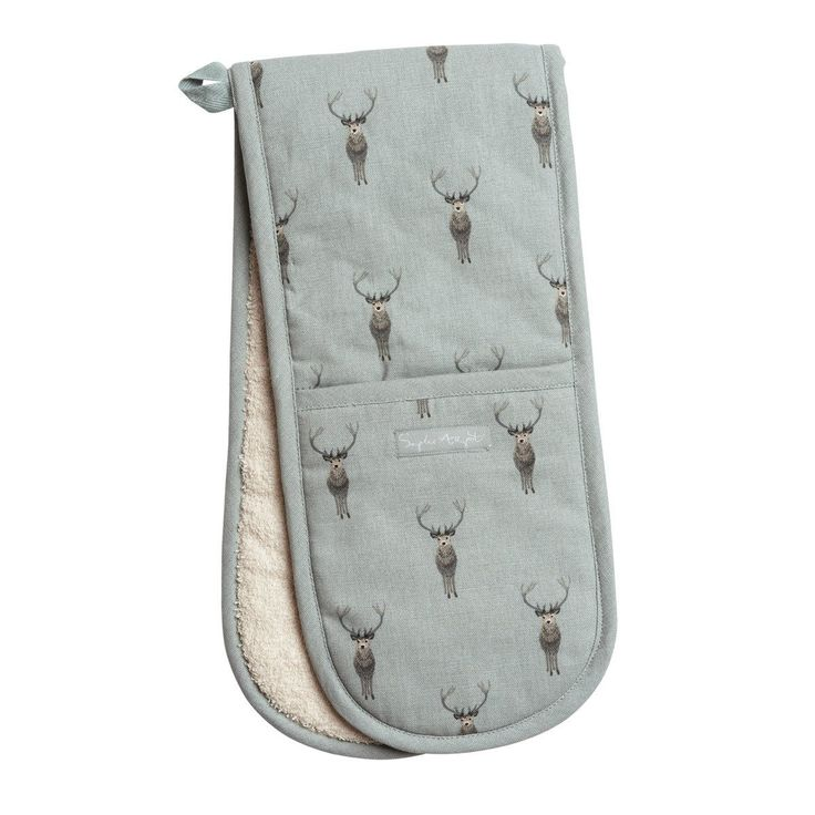 Highland Stag Double Oven Glove from Sophie Allport