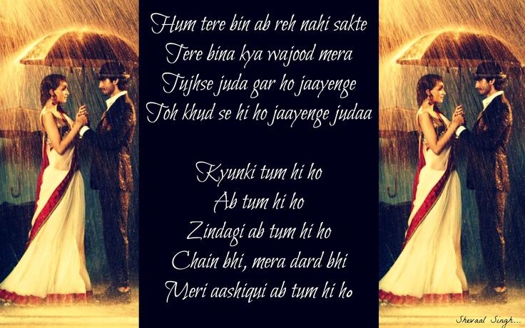 Tum Hi Ho - Aashiqui 2 | Aashiqui 2 | Pinterest | Songs