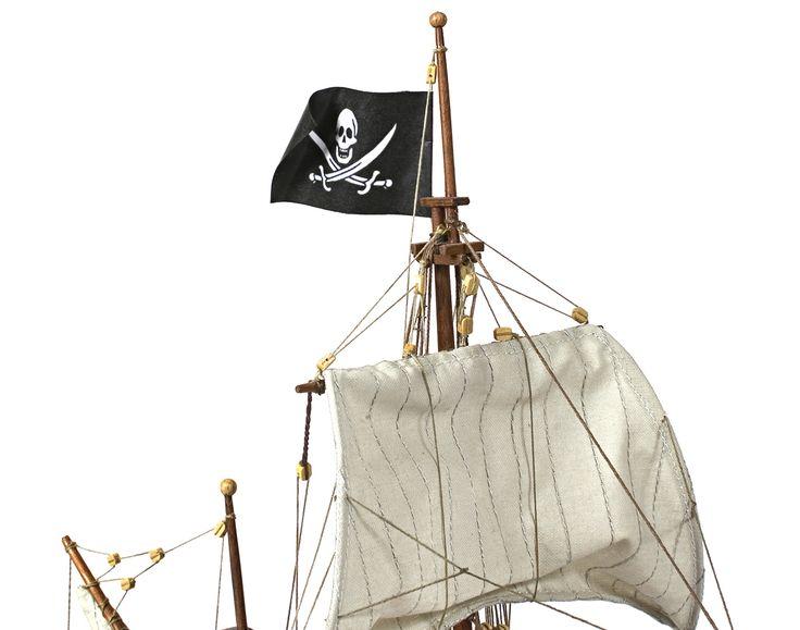 галеон Buccaneer. Модель «Буканьер», возможно, представляет один из тех кораблей, которые использовались для таких разбойных приключений.