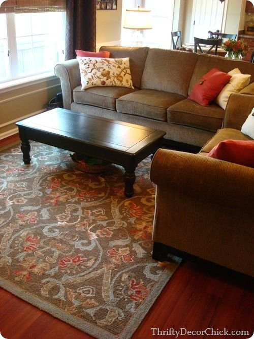 One of the many looks of our family room