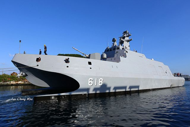 Tuo Jiang Stealth Corvette. Apart from its high speed, another feature of the corvette is its stealth design. The uneven surface of the vessel is designed to deflect radar signals, making it difficult to be detected by the enemy. The Tuo Jiang is part a 25 billion New Taiwan dollar (about $791 million).