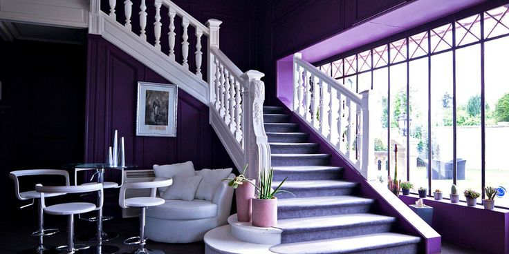 Hall - Domaine de la Corniche - Giverny #hotel #domaine #corniche #giverny #4star #design #france #hall #entrance