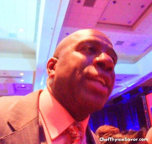 Foodie Fun: Meeting Earvin Magic Johnson at The NRA Show Keyno...