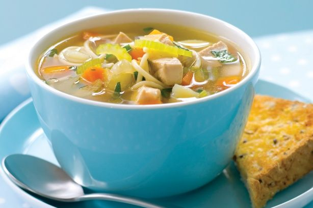 Chicken soup is like food for the soul and this one will give you an instant pick-me-up.