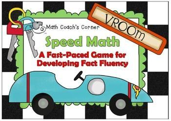 Description Make fact fluency practice fun with this engaging game that incorporates all four operations! Great for small group instruction also. File includes colorful cards, a score sheet, and an example of how a hand is played. Be sure to rate this product and provide feedback to earn TpT credits good toward the purchase of future products! You Might Also Like... Multiples Mambo: A Fast-Paced Game for...