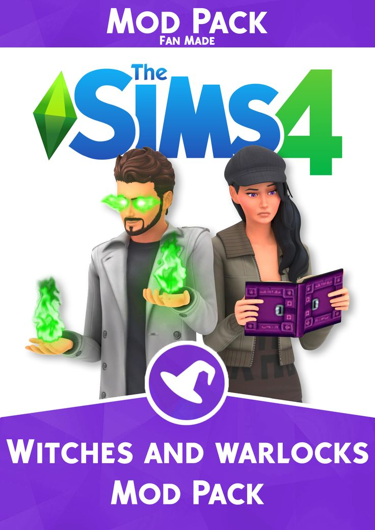 The Sims 4 Witches and Warlocks ModPack