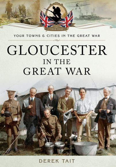 Pen and Sword Towns and Cities Series  http://www.pen-and-sword.co.uk/Gloucester-in-the-Great-War-Paperback/p/11619 This powerful account of a city that showed great courage and determination in a time of adversity ensures that Gloucester's people, who lived through the four intense years of conflict, are remembered for their immense contribution the war effort. #militaryhistory #townsandcities #history #penandswordbooks #newrelease