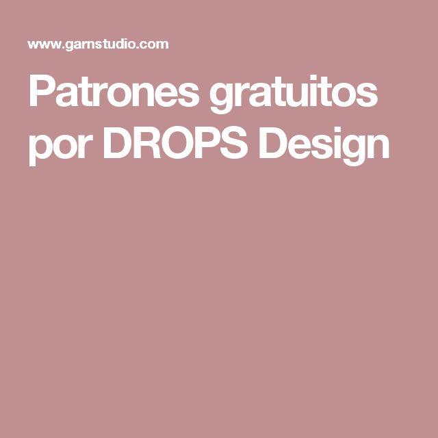 Patrones gratuitos por DROPS Design