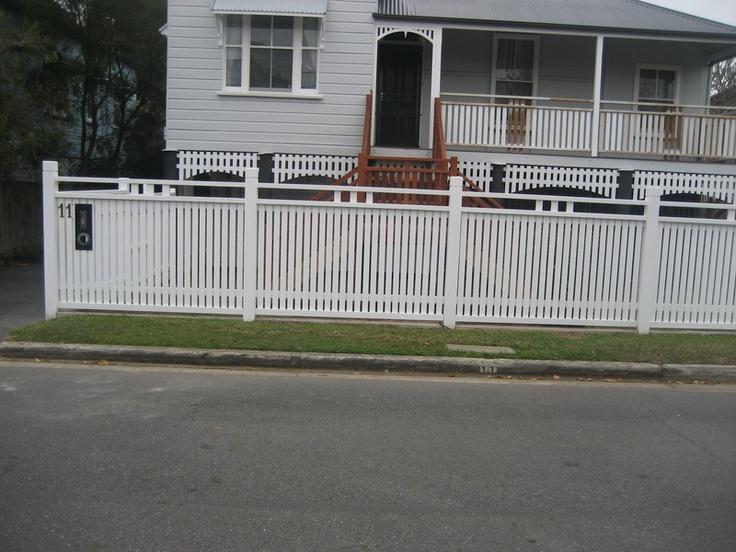 Picket Fences, Brisbane   White Pickets
