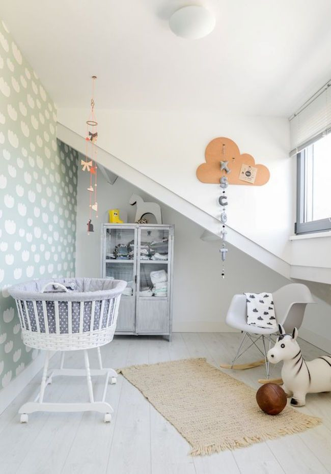 Beautiful Scandinavian Kids Room Decor