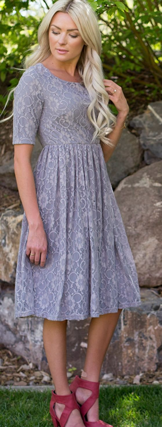 155 best clothes that i love images on pinterest modest adorable gray lace dress fully lined modest dress 6499 missy sizes xs ombrellifo Images
