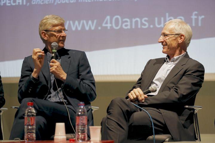 Rencontre avec Arsène Wenger, Marc Keller et Léonard Specht
