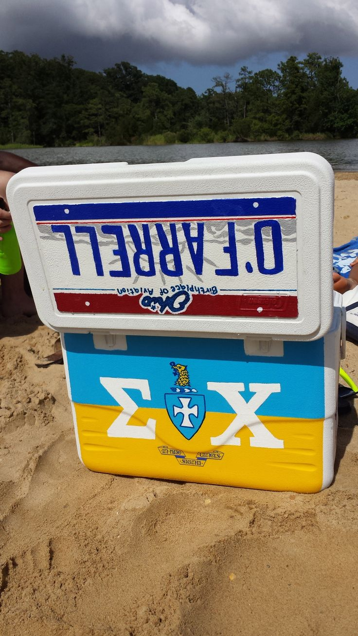 Sigma Chi Sweetheart Formal Cooler