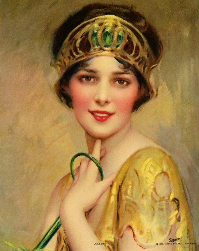 1927 by Charles Bosseron ChambersBosseron Chamber, 1920, Beautiful Painting, Lady, Vintage Art, Beautiful Art, Art Deco, 1927 Charles, Charles Bosseron