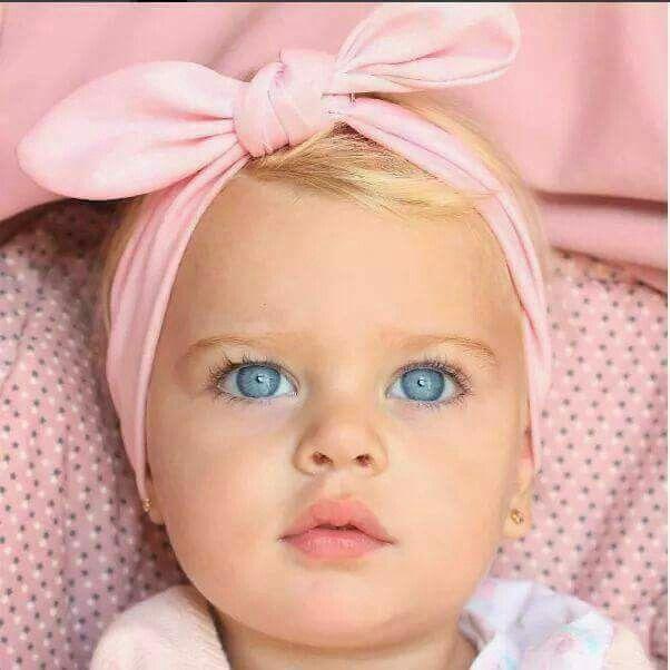 Little Blue Eyed Babe