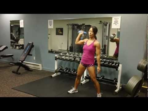This is the first 12 minute video I have done.  This workout consist of 4 exercises, each one minute intervals with 10 second rest in between sets, completed three times. the equipment I used was a 10 lb. kettlebell. Started with 10 reps alternating then switched to 5 reps on each side for the second and third round.  Exercises are: 1. Shoulder ...