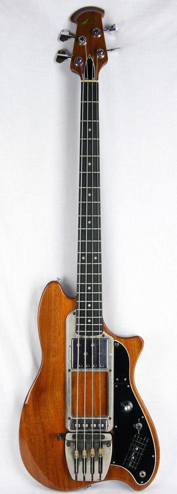 1970's Ovation Magnum II Bass #LardysChordophoneOfTheDay #Bass ~ https://www.pinterest.com/lardyfatboy/lardys-other-fretted-chordophones-of-the-day/ ~