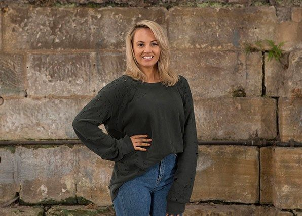 Samantha Jade as Isla Schultz in Home And Away: All Or Nothing