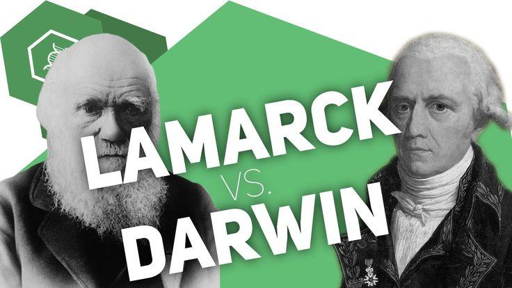 Vergleich der Evolutionstheorien von Lamarck & Darwin - Video
