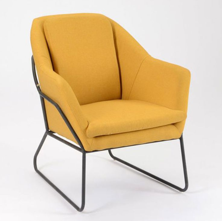 34 best Fauteuil jaune images on Pinterest
