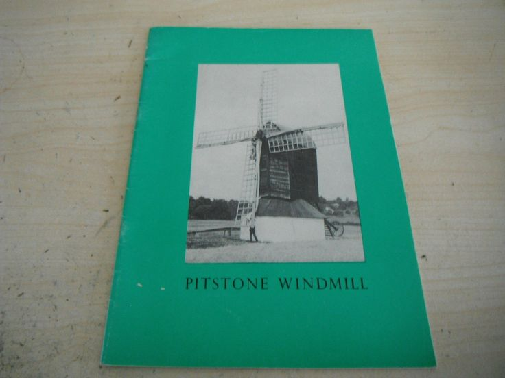 PITSTONE WINDMILL BUCKINGHAMSHIRE HISTORY RESTORATION BOOK 1976 national trust   eBay