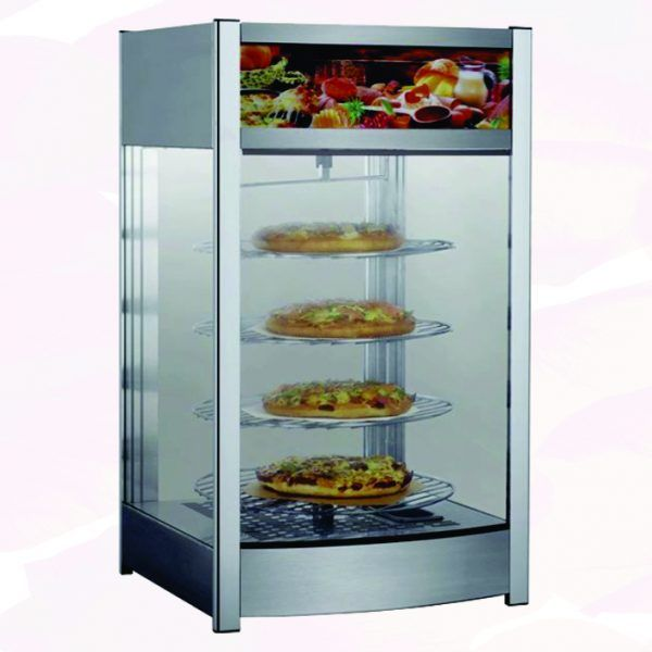 Rotative Shelves Warmer Showcase | Warmers Rental | Rent4Expo.eu
