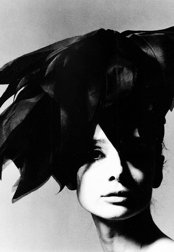 Audrey Hepburn photographed by Bert Stern for VogueParis, 1964.