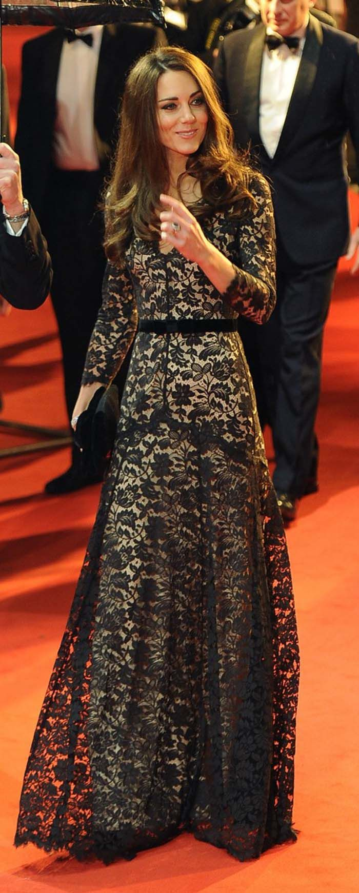 Kate Middleton in Alice Temperley Lace Dress