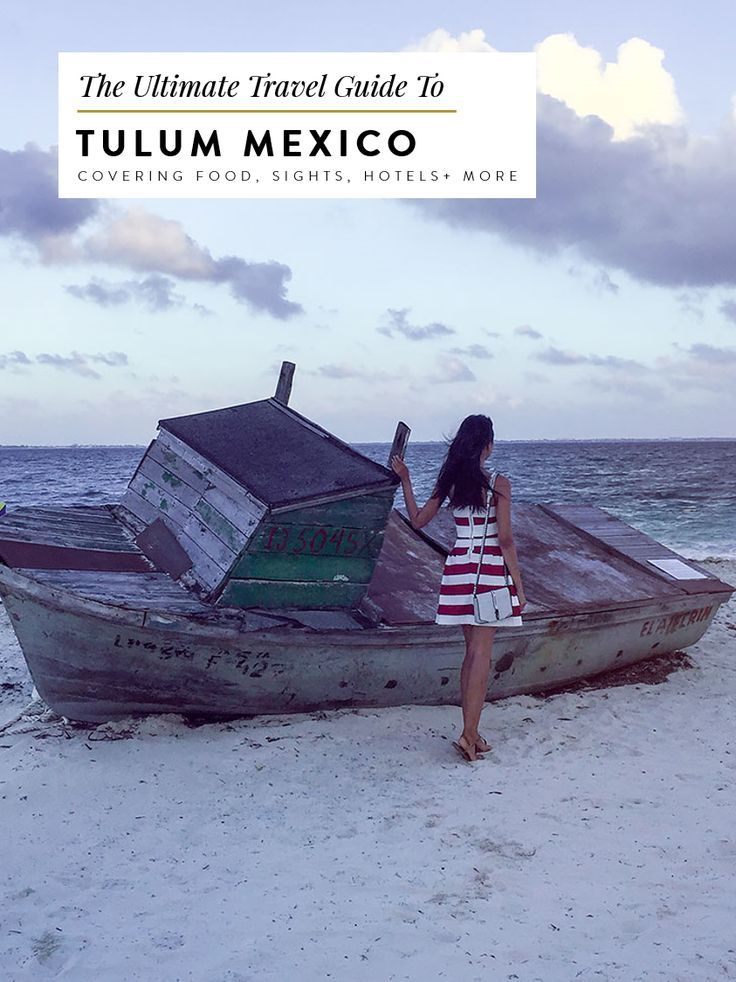 tulum mexico travel guide itinerary with tulum ruins, beaches, akumal day trip for snorkeling with turtles, swimming in cenotes, and more