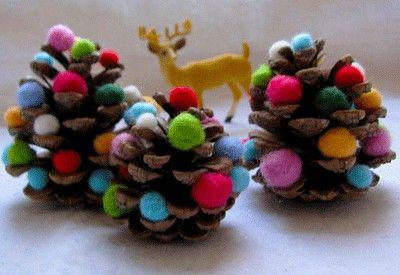 Lavoretti creativi di Natale - Decorazioni natalizie